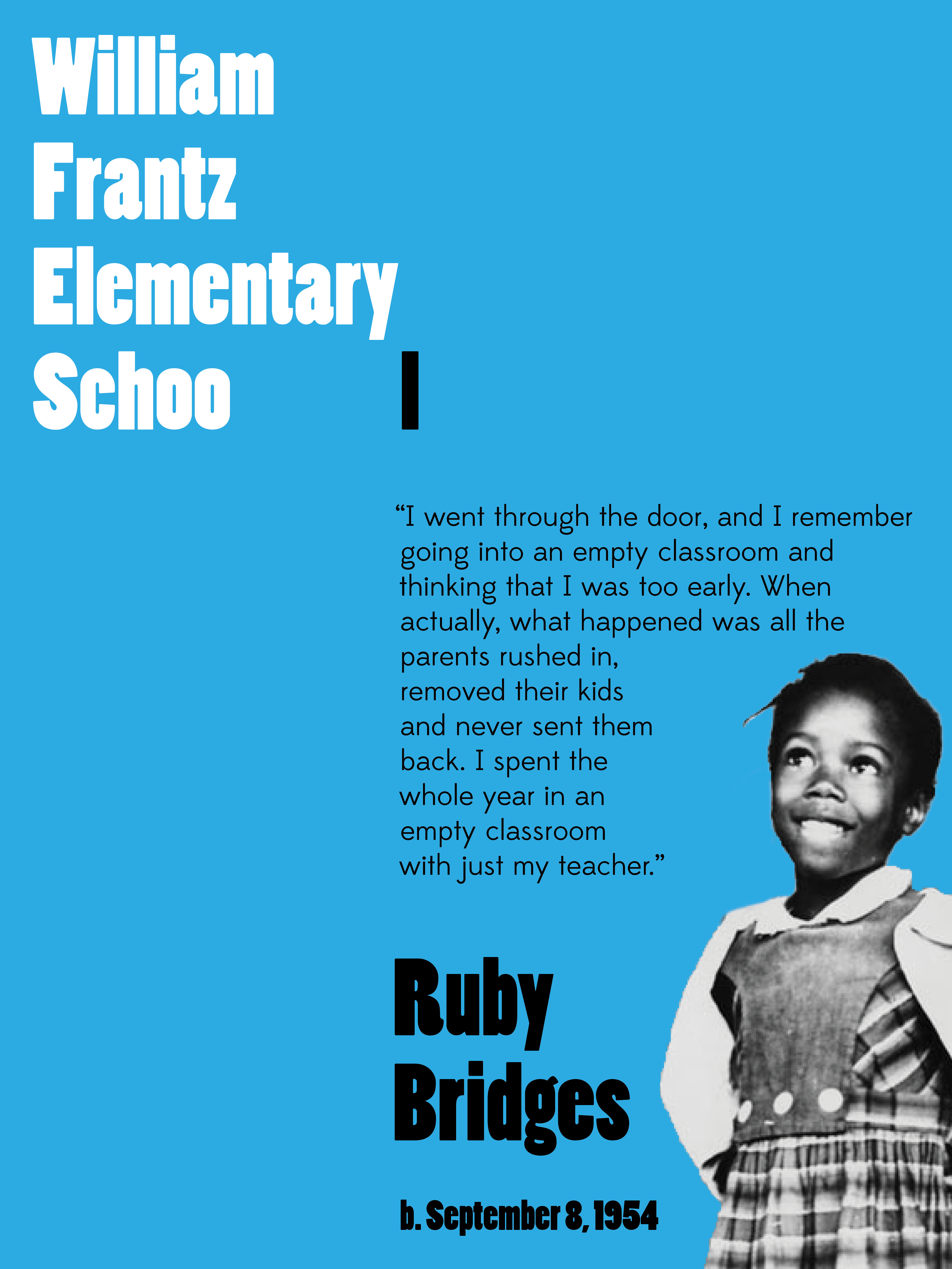 Ruby Bridges Quotes Delectable Ruby Bridges Poster  Hello